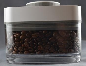 食品保存容器チョイスでコーヒー豆を保存