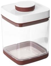 真空保存容器セビア2.4L_ドライフード約1キロ分保存可能